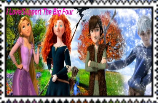 I Love/Support The Big Four Stamp by Normanjokerwise
