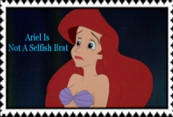 Ariel Is Not A Selfish Brat!!!!!!! Stamp by Normanjokerwise