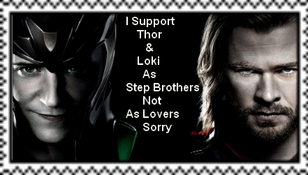 Thor And Loki As Step Brothers Stamp by Normanjokerwise