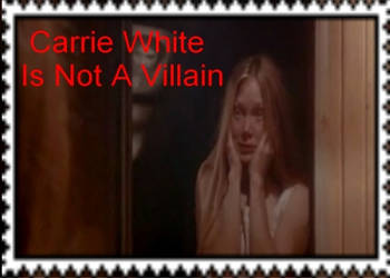 Carrie White Is Not A Villain Stamp