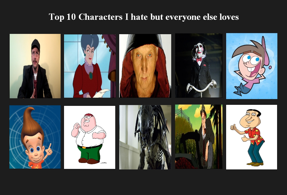 Anime Characters Everyone Hates : My top characters i hate but everyone love by