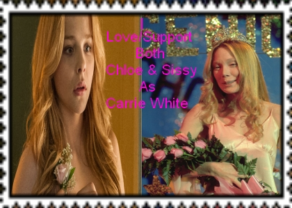 I Love Both Chloe And Sissy As Carrie Stamp by Normanjokerwise