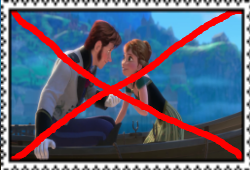 Anti Anna and Hans Stamp by Normanjokerwise