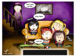 Game Night at Marsh Home by JoanStorm