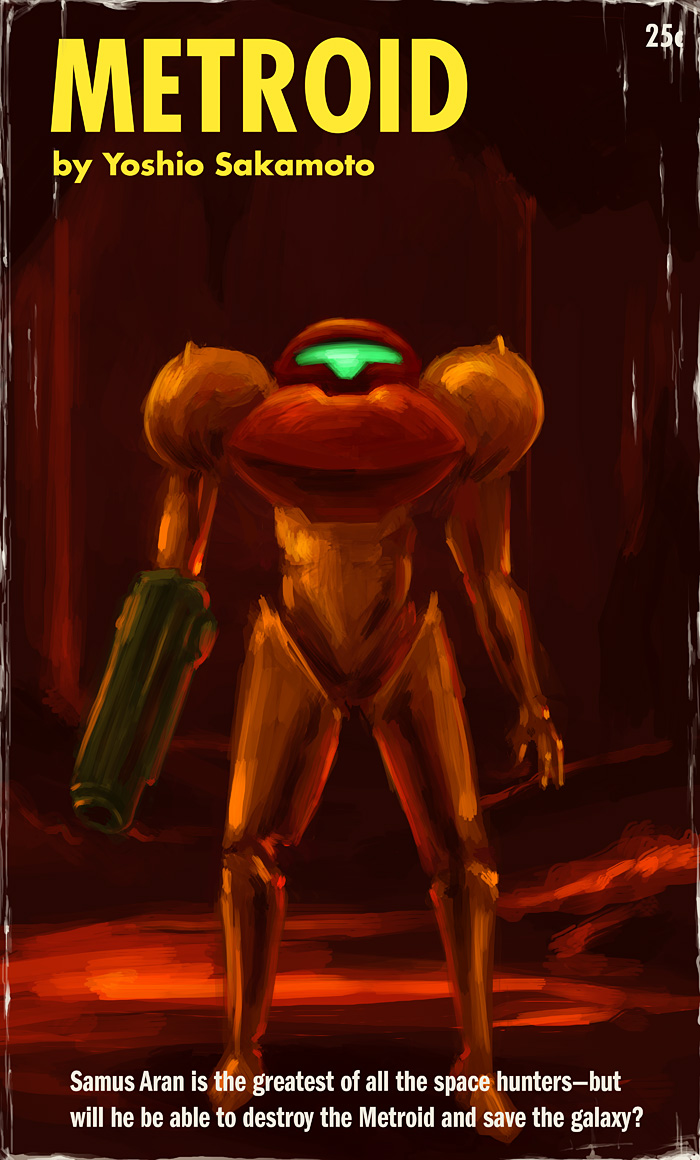 Metroid by zacharyknoles