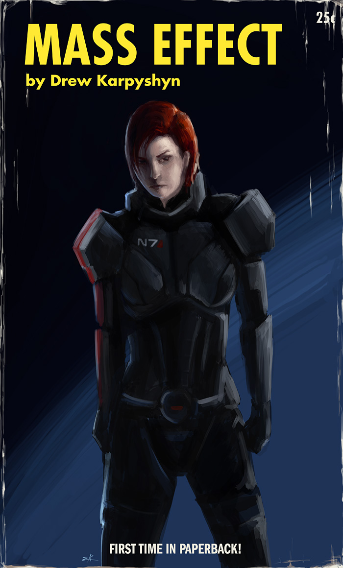 Mass Effect by zacharyknoles