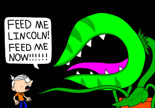 Lincoln Loud and Audrey II