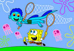 Spongebob and Luca
