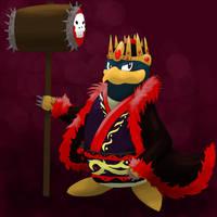 Evil King Dedede by garbagekeeper