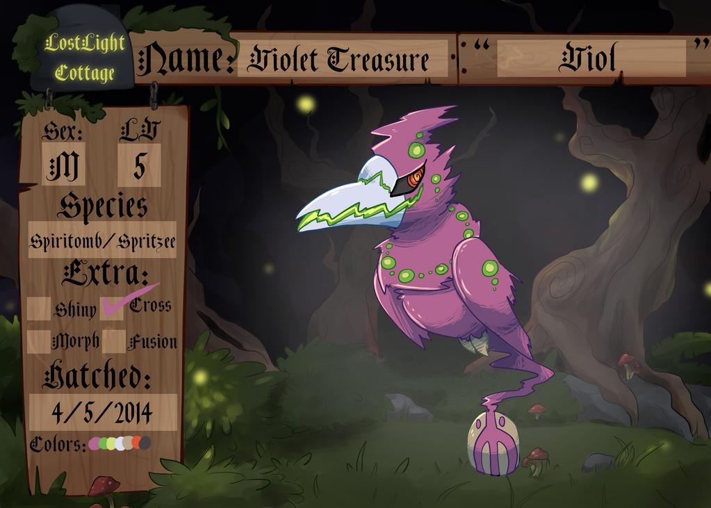 PKMNation: Violet Treasure by garbagekeeper