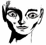 Gesicht-schwarze-flaechen