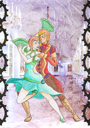 Dryad and King