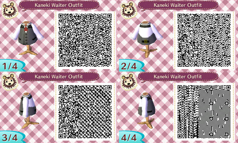 Matrimonio Bohemien Qr Code : Animal crossing new leaf qr code kaneki waiter by