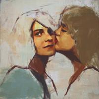 Kurt, Courtney by viktorow
