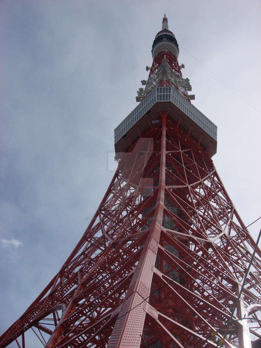 Tokyo Tower by SinboundPhotography
