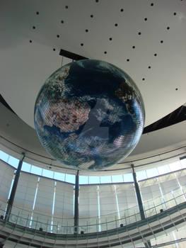 Geo-Cosmos at Miraikan