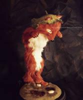 : young kitsune : by BastardPrince