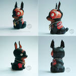 : chibi zombie dog : by BastardPrince