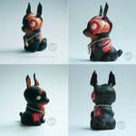 : chibi zombie dog :