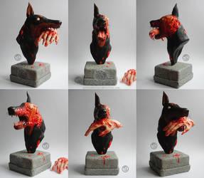 : zombie dog : by BastardPrince