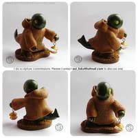 : small master tonberry figure : by BastardPrince