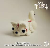 : okami pug : by BastardPrince
