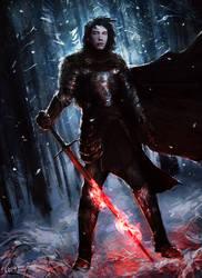 : medieval Kylo Ren :