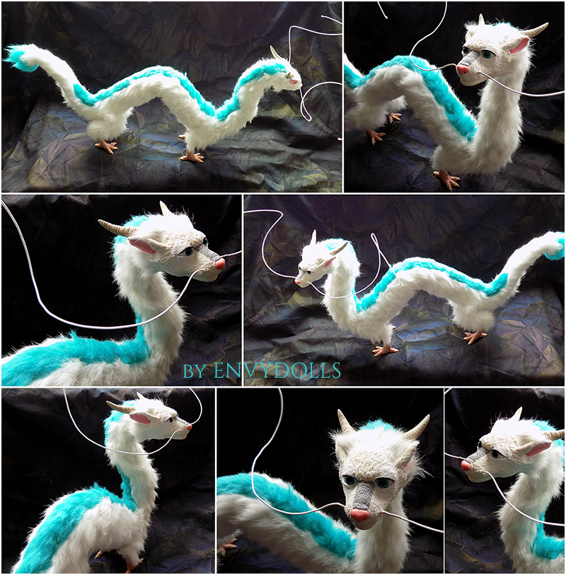: poseable Haku doll : (for sale) by BastardPrince