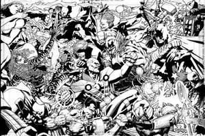 JLI vs. Avengers by SABOGSINTIDO