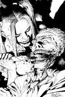 harleyquinn  joker by SABOGSINTIDO