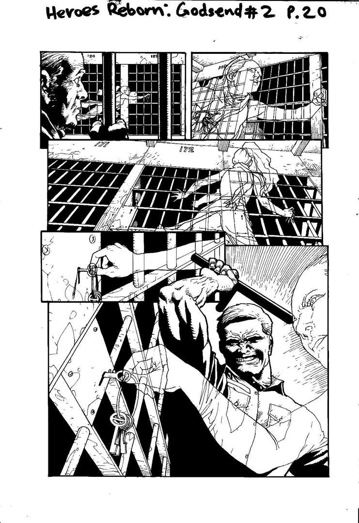 Heroes Reborn: Godsend #2 P20 by SABOGSINTIDO