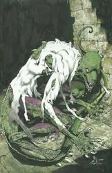 the lizard by SABOGSINTIDO