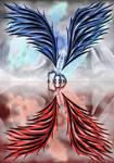 digital : 2 sides wings 2012 by darshan2good