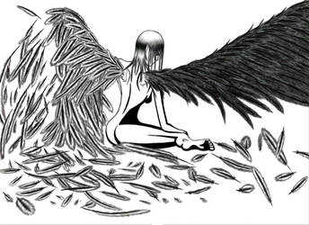 traditional : super detailed Winged scanned 2011 by darshan2good