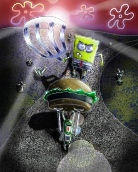 digital : SpongeBob Chasing Plankton 2013