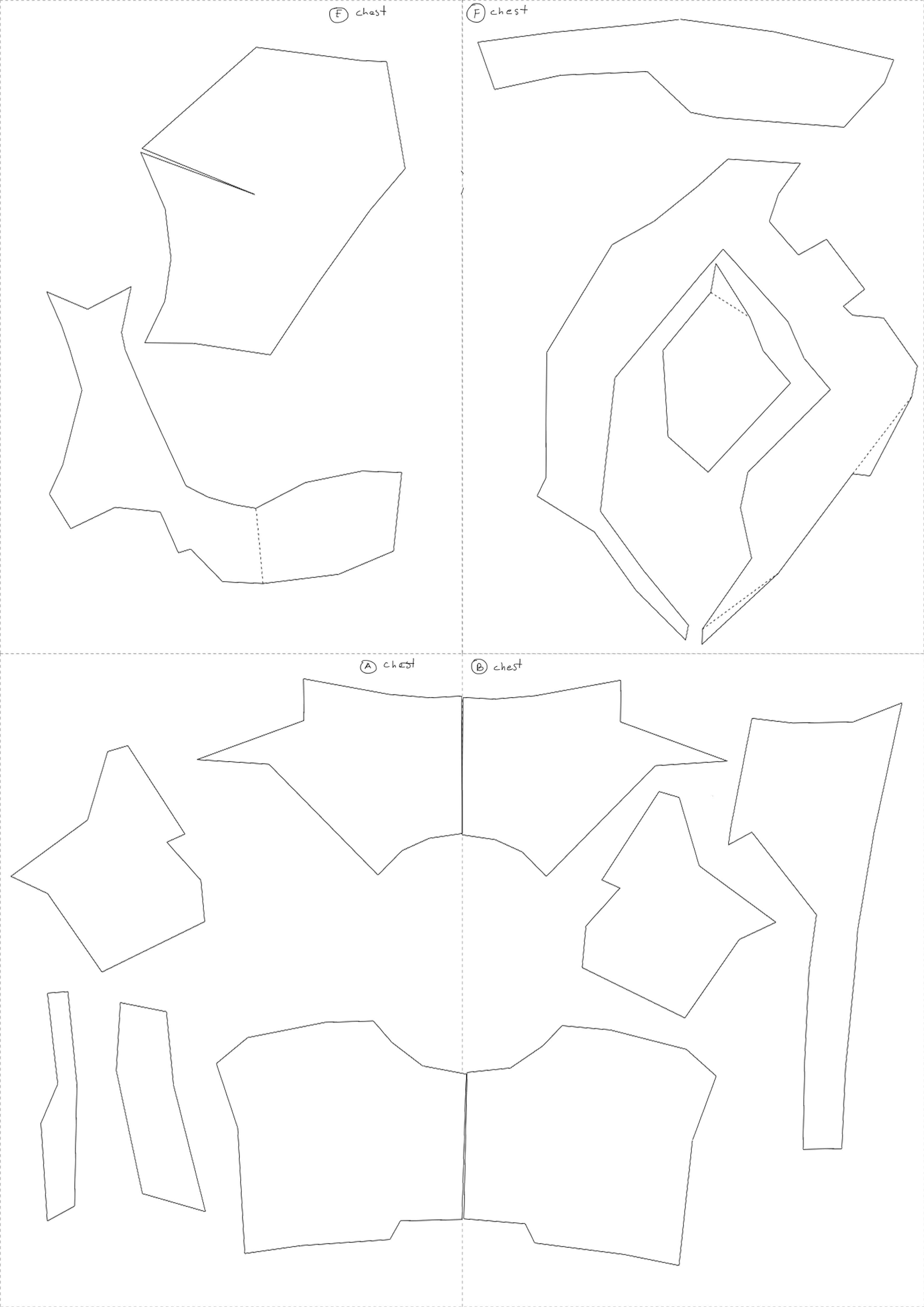 ... Iron Man Repulsor Arm Papercraft Template ...