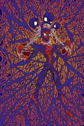 digital : spiderman v venom amazing detail 2013 by darshan2good