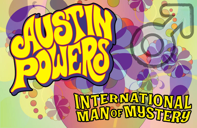 business card Austin Powers 2014 by darshan2good on