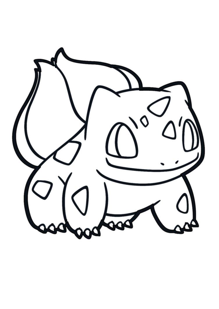 Line Pokemon Bulbasaur 2014 By Darshan2good On Deviantart