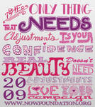 Love Your Body - Typography