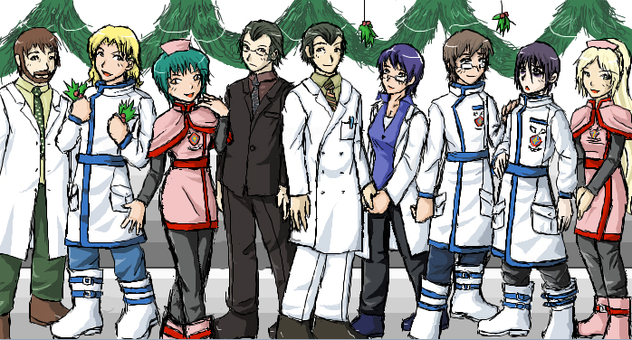 TraumaCenter - Winter Uniforms by ChibiEdo