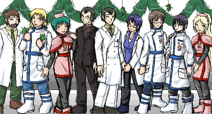 TraumaCenter - Winter Uniforms by ChibiEdo