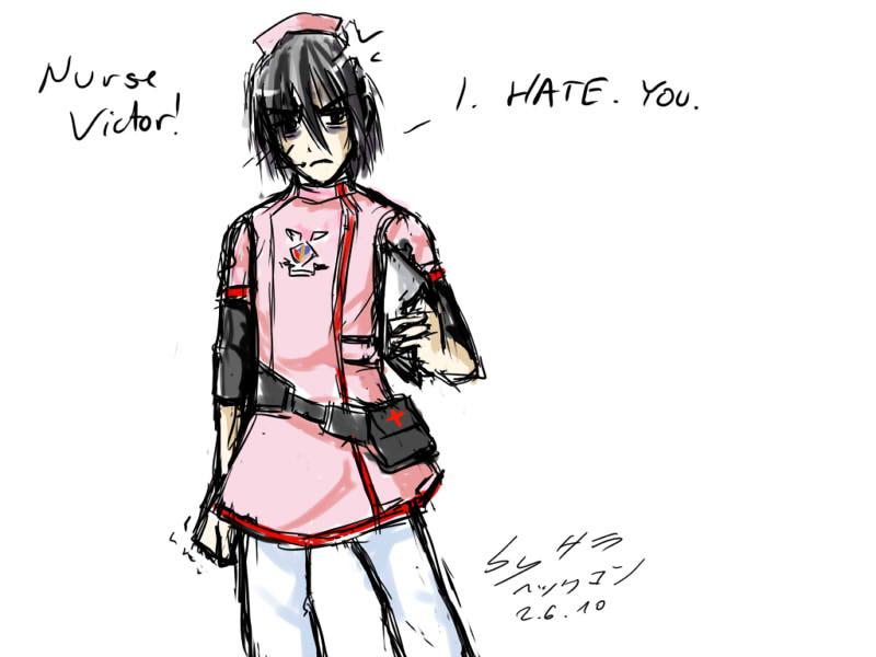 TC - Victor - Nurse by ChibiEdo