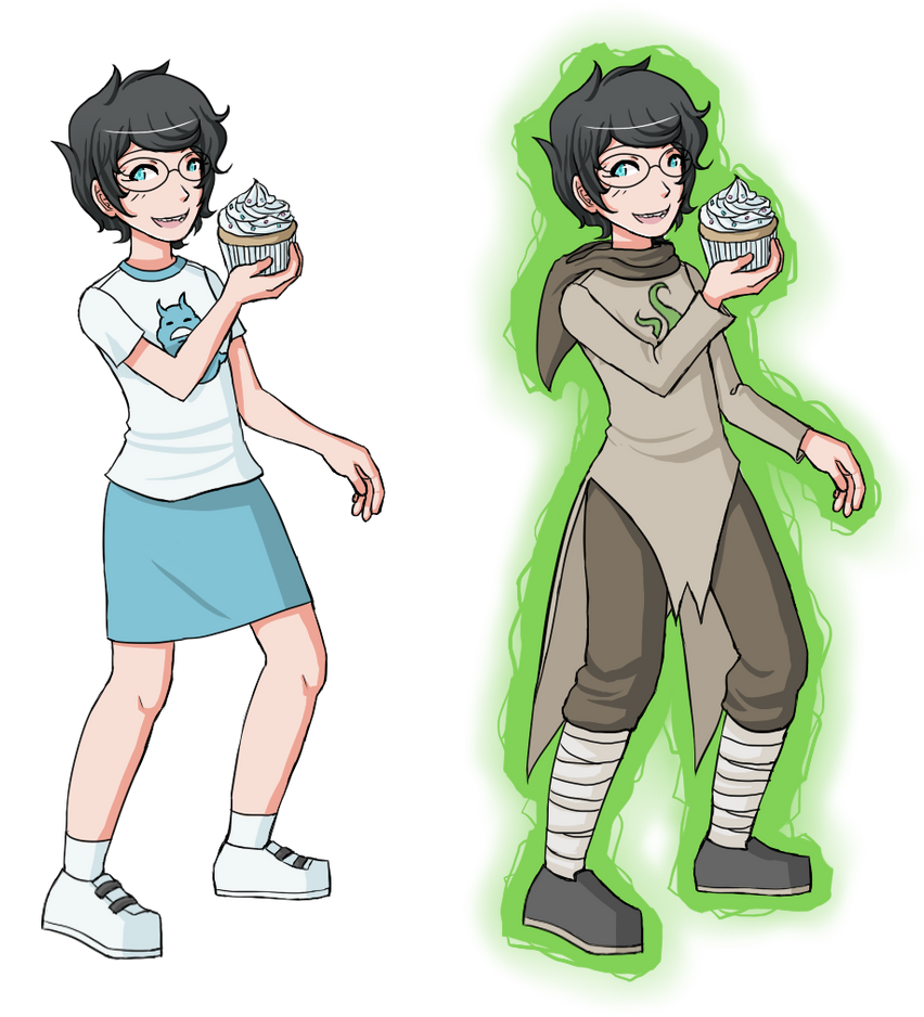 Hs Lc Jane Normal And God Tier By Chibiedo On Deviantart