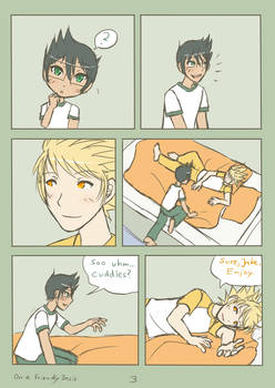 HS - Jake x Dirk - On a Friendly Basis - Page 3