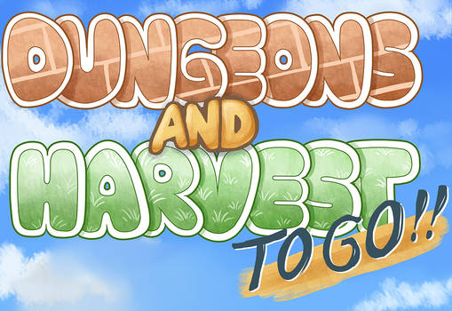 Dungeons and Harvest - Logo Design