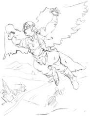 FLYING BIRDS by devchitap