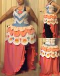 Custom Order Pinkie Pie Galloping Gala Dress