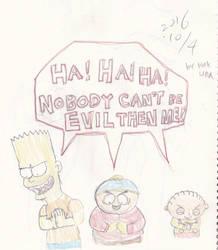 Three Evil Boy
