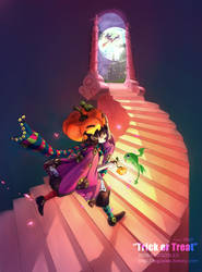 trick or treat by logosles